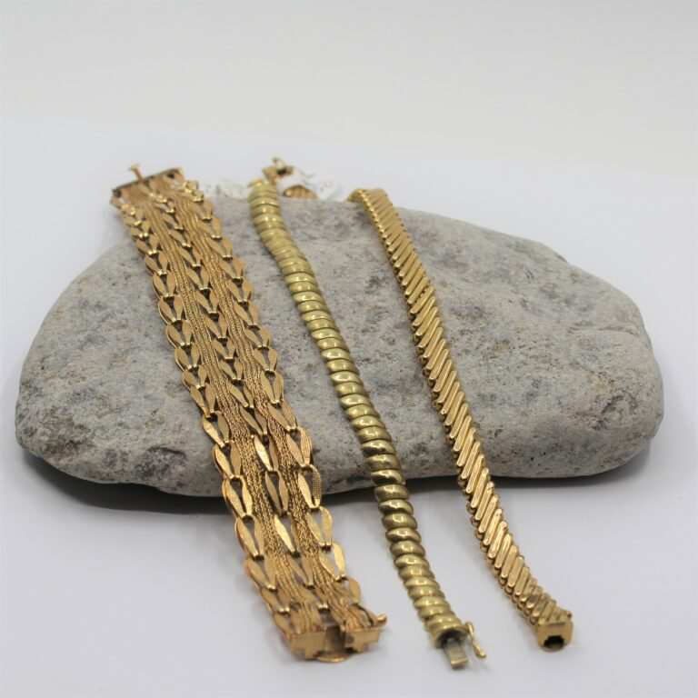 estate gold bracelets